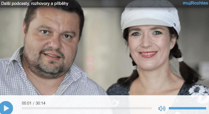 Tereza Kostková a psycholog, párový terapeut Pavel Rataj