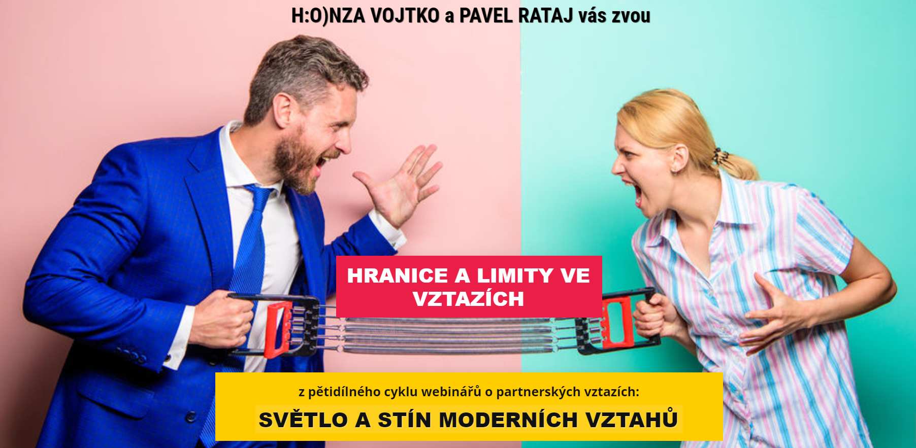 Hranice alimity ve vztazích- Pavel Rataj aHonza Vojtko