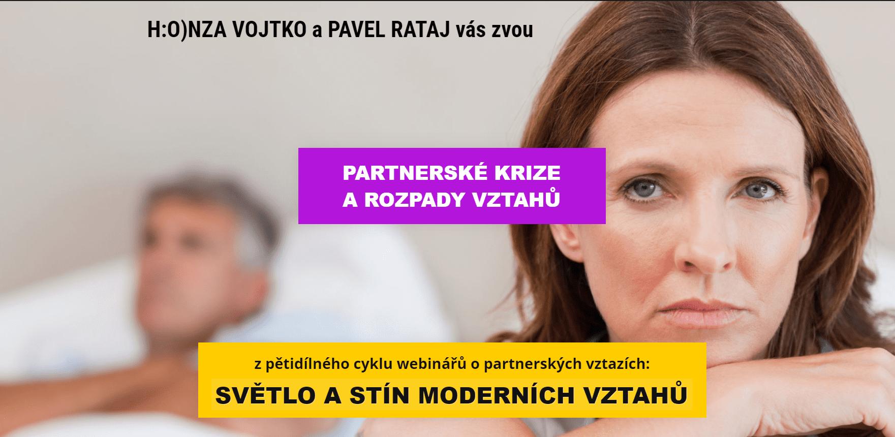 5. Partnerské krize arozpady - Pavel Rataj aHonza Vojtko