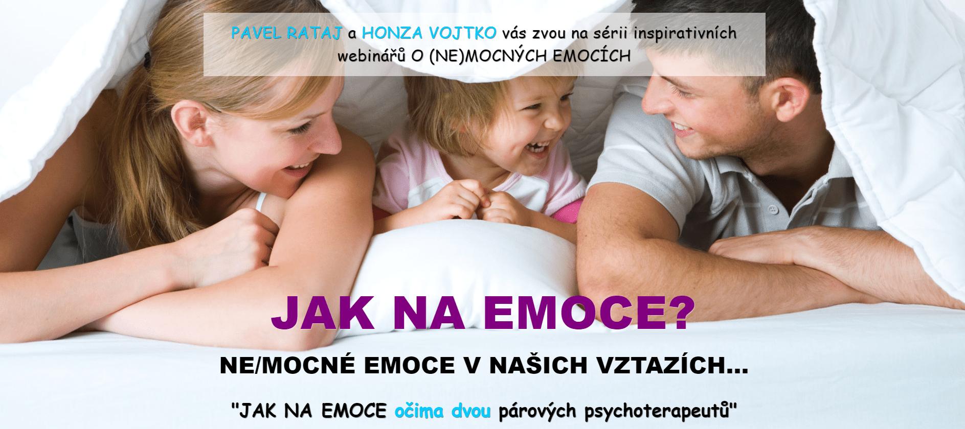 JAK NAEMOCE: Cesta ksobě - Emoční inteligence a5 základních úrovní - Pavel Rataj aHonza Vojtko